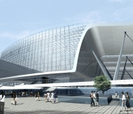 Competition - Tianjin metro station