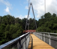 Cap-Rouge Pedestrian Bridge