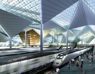 Competition - Hongqiao Train Station