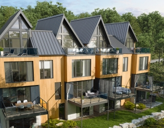 Arborescence, Bromont condos-shelters