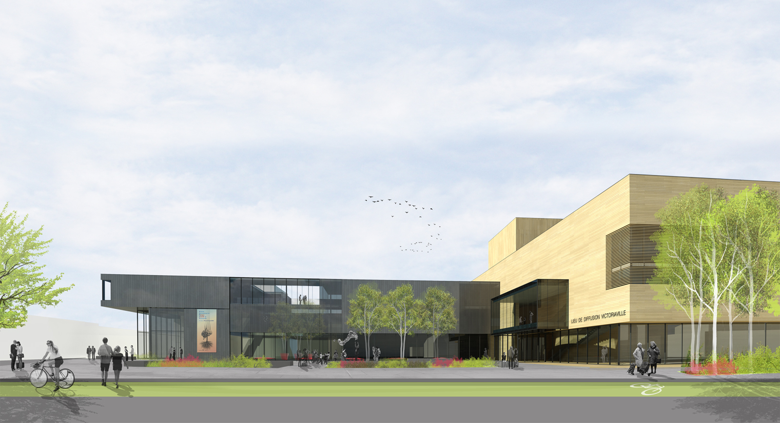 Competition - Victoriaville Cultural Center (contest)   ABCP