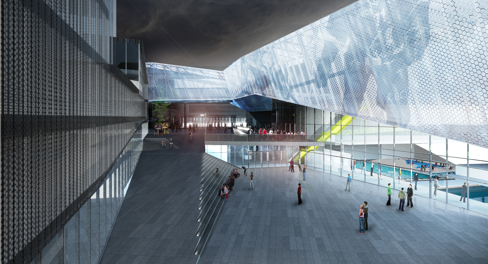 Competition - Malley Intercommunal Center